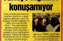 Posta Gazetesi Ankara: Türkiye İngilizce Konuşamıyor